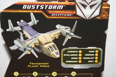 Transformers More Than Meets The Eye (2010) - Duststorm