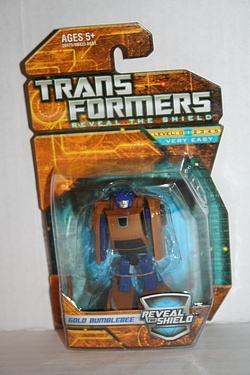 Transformers - Reveal the Shield - Legends Gold Bumblebee