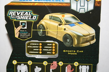 Transformers More Than Meets The Eye (2010) - Gold Bumblebee