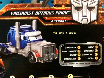 Transformers More Than Meets The Eye (2010) - Optimus Prime