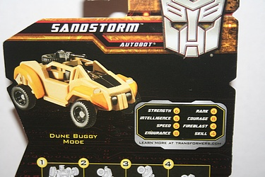 Transformers More Than Meets The Eye (2010) - Sandstorm