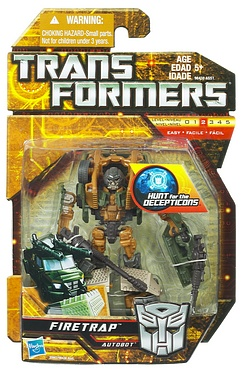 Transformers More Than Meets The Eye (2010) - Firetrap