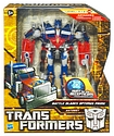 Transformers More Than Meets The Eye (2010) - Battle Blades Optimus Prime Voyager Class