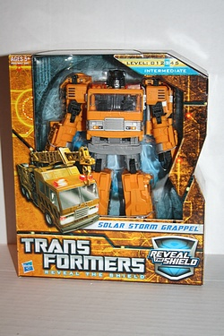 Transformers - Reveal the Shield - Solar Storm Grappel