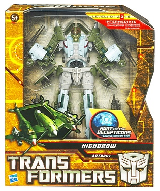 Transformers More Than Meets The Eye (2010) - Highbrow Voyager Class