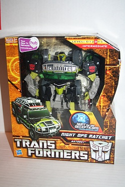 Transformers - Hunt for the Decepticons - Night Ops Ratchet