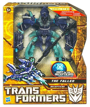 Transformers More Than Meets The Eye (2010) - The Fallen with Staff Voyager Class