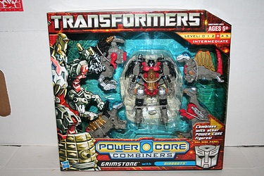Transformers Power Core Combiners - Grimstone and the Dinobots