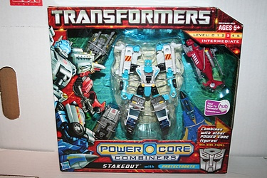 Transformers: Power Core Combiners - Stakeout