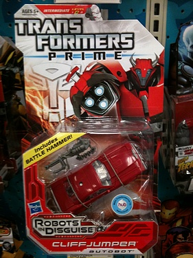Transformers Prime (2012) - Cliffjumper