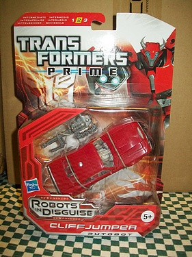 Transformers: Prime - European Packaging - Cliffjumper!