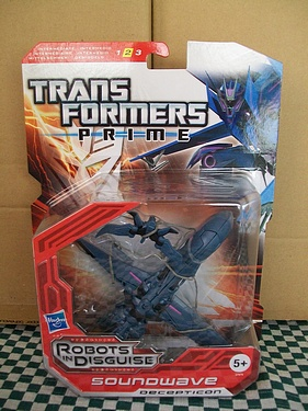 Transformers: Prime - European Packaging - Soundwave!