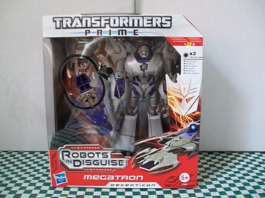 Transformers Prime - Voyager Class Megatron - Euro Style