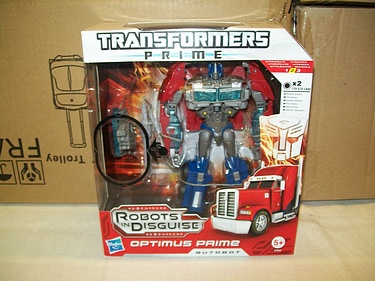 Transformers Prime - Voyager Class Optimus Euro Style