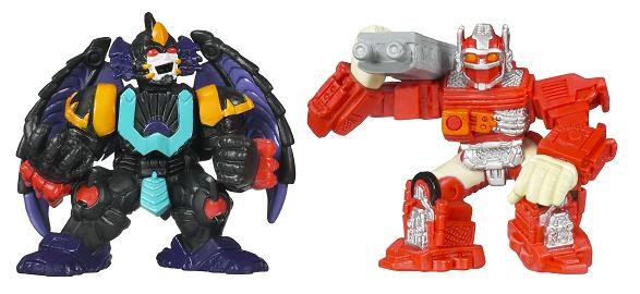 Transformers Robot Heroes - Super Optimus Prime vs. Megatron