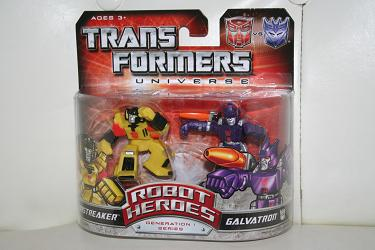 Transformers Robot Heroes - Sunstreaker vs. Galvatron