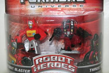 Transformers Universe Robot Heroes - Blaster vs. Thrust