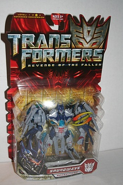 Transformers: Revenge of the Fallen - Deluxe Class Soundwave