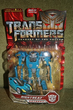 Transformers: Revenge of the Fallen - Scout Class Nightbeat