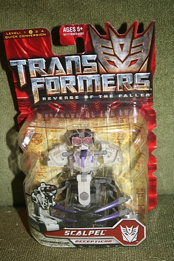 Transformers: Revenge of the Fallen - Scout Class Scalpel