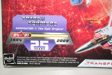 Transformers Universe - Starscream generation key