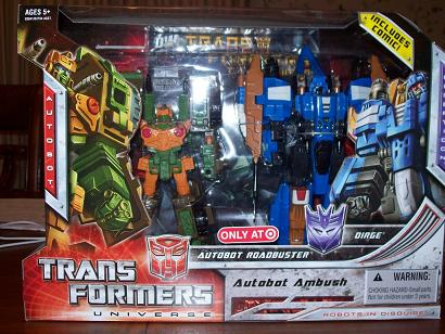 Transformers Universe - Target Exclusive Autobot Ambush