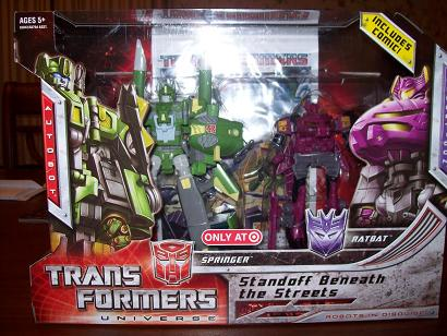 Transformers Universe - Target Exclusive Standoff Beneath the Streets