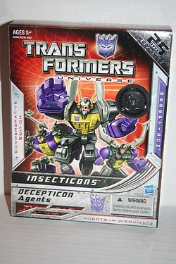 Toys R Us exclusive Insecticons - Commemorative Edition.