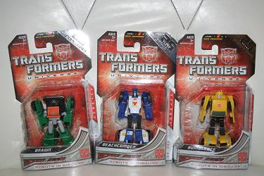 Transformers Universe Legends Wave 4